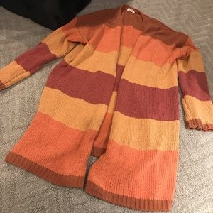 Oversized, chenille cardigans from VICI
